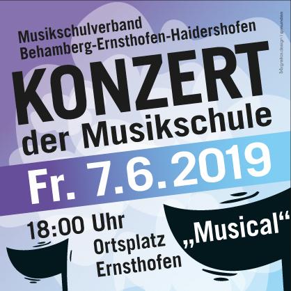 Konzert der Musikschule 2019