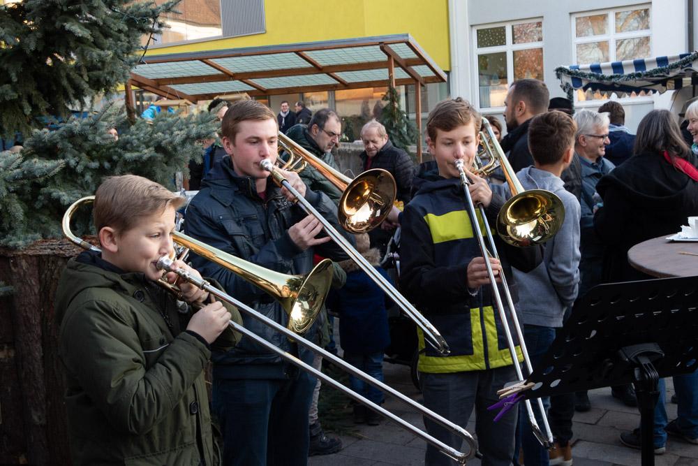 Die Musikschule am Adventmarkt Ernsthofen