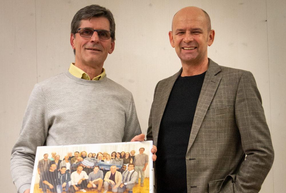 Karl Bürstmayr geht in Pension