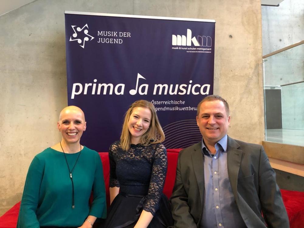 Prima la musica: Eva Oberleitner, Maya Fuhrmann und Klaus Oberleitner